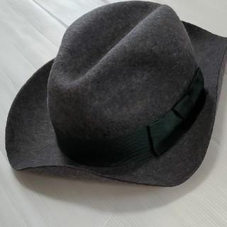 ローズバッド(ROSE BUD)の☆期間限定セール☆ローズバッド ハット 帽子 中折れハット イタリア製(ハット)