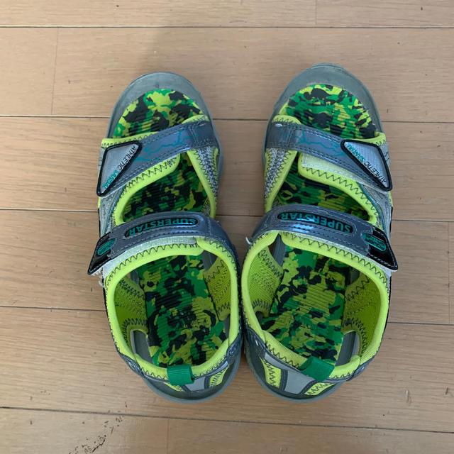 SUPERSTAR(スーパースター)のsuper star⭐️21センチ⭐️サンダル キッズ/ベビー/マタニティのキッズ靴/シューズ(15cm~)(サンダル)の商品写真