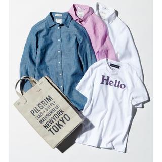 マディソンブルー(MADISONBLUE)のMADISONBLUE 別注/ Hello Tシャツ マディソンブルー (Tシャツ(半袖/袖なし))