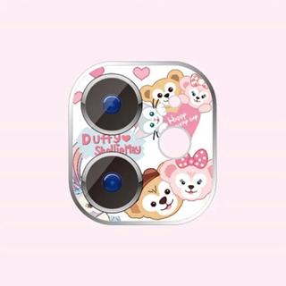 ディズニー(Disney)のダッフィー  iphone11  レンズ保護フィルム 2枚(保護フィルム)
