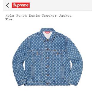 シュプリーム(Supreme)のsupreme Hole Punch Denim Trucker Jacket (Gジャン/デニムジャケット)