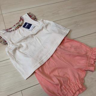ナルミヤ インターナショナル(NARUMIYA INTERNATIONAL)のキリンのソフィー セットコーデ(Tシャツ)