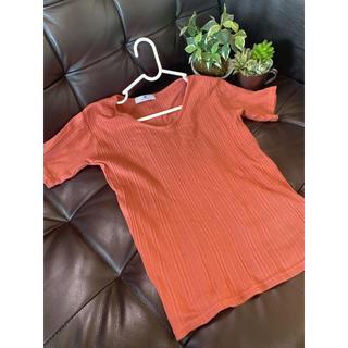 サニーレーベル(Sonny Label)のウォッシャブルリブT Vネック  URBAN RESARCH(Tシャツ(半袖/袖なし))