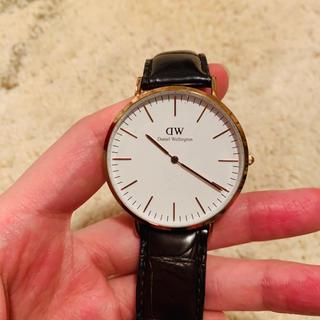 ダニエルウェリントン(Daniel Wellington)のダニエルウェリントン Daniel Wellington メンズ 時計(腕時計(アナログ))