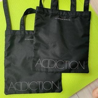 アディクション(ADDICTION)の[ADDICTION]10TH限定トートバッグ×2(トートバッグ)