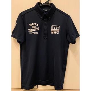 マークアンドロナ(MARK&LONA)のmuta ムータ ゴルフ ポロシャツ メンズ M(ポロシャツ)
