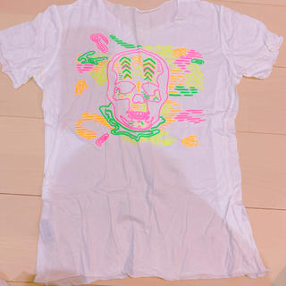 ルシアンペラフィネ(Lucien pellat-finet)の美品 Lucien Pellat-Finet 白 tシャツ ペラフィネ(Tシャツ(半袖/袖なし))