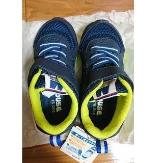 ミキハウス(mikihouse)の新品ミキハウススニーカー靴シューズ16.0ネイビー(スニーカー)