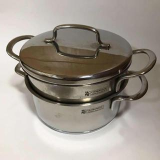 ヴェーエムエフ(WMF)のWMF ステンレス製 両手 小型鍋 少しお値下げしました(鍋/フライパン)