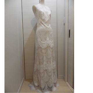 タダシショウジ(TADASHI SHOJI)のTadashi Shojiタダシショージ 美しい白レース ドレス2(ウェディングドレス)