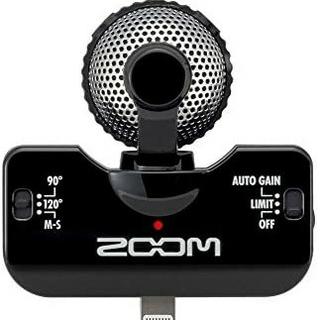 ズーム(Zoom)の送料無料!ZOOM/ズーム/プロフェッショナルステレオマイクロフォン/ iQ5(その他)