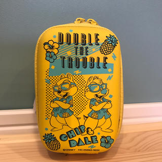 ディズニー(Disney)のディズニー デジカメケース チップ デール(ケース/バッグ)