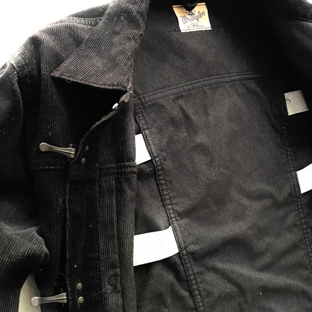 Ron Herman(ロンハーマン)の【希少】Wrangler × Ron Hermanコーデュロイジャケット デニム メンズのジャケット/アウター(Gジャン/デニムジャケット)の商品写真