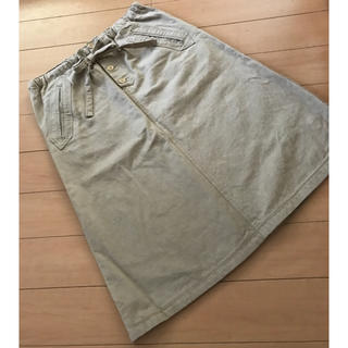 ピュアルセシン(pual ce cin)のピュアルセシン コットンスカート(ひざ丈スカート)