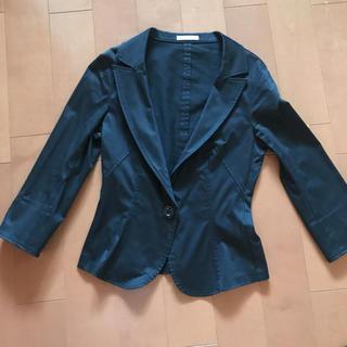 アナイ(ANAYI)のRue de B(リューデベー)のジャケット ブラック(テーラードジャケット)