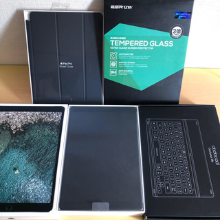アイパッド(iPad)のスペシャルセットPadPro10.5SIMフリー512G 美品(タブレット)
