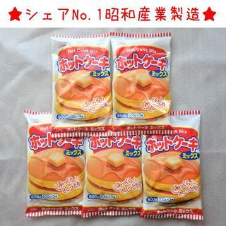 ホットケーキミックス 600g × 5袋 CGC(昭和産業製造)(菓子/デザート)