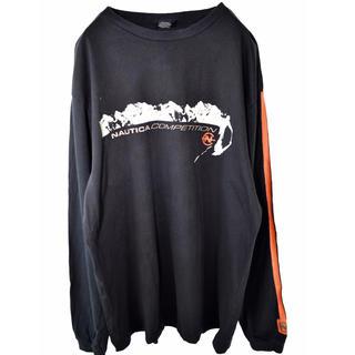 """ノーティカ(NAUTICA)のNo.1308 """"vintage"""" 90s Nautica 袖デザイン ロンt(Tシャツ/カットソー(七分/長袖))"""