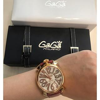 ガガミラノ(GaGa MILANO)のガガミラノ正規美品マヌアーレ腕時計(腕時計)