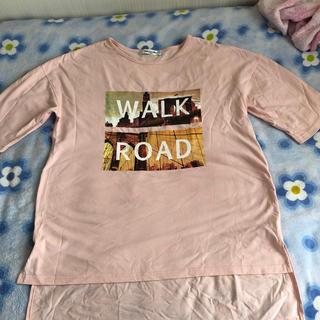 エムズエキサイト(EMSEXCITE)のロングTシャツ(Tシャツ/カットソー(半袖/袖なし))