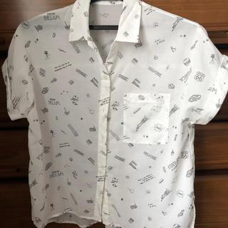 半袖 柄シャツ(シャツ/ブラウス(半袖/袖なし))