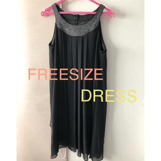 ロートレアモン(LAUTREAMONT)のブラックドレス(ミディアムドレス)