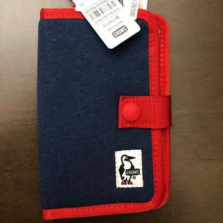 チャムス(CHUMS)のチャムス Notebook Style Mobile Case Sweat(iPhoneケース)