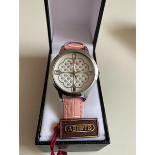 アビステ(ABISTE)の《値下げ》ABISTE レディース腕時計 新品未使用 定価8,400円(腕時計)