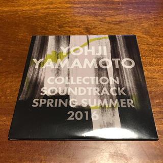 ヨウジヤマモト(Yohji Yamamoto)の【レア・非売品・新品未開封】ヨウジヤマモト 2016 コレクションサウンドCD(その他)