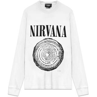 ハーフマン(HALFMAN)のHALFMAN × NIRVANA JIGGY L/S Tee(Tシャツ/カットソー(七分/長袖))