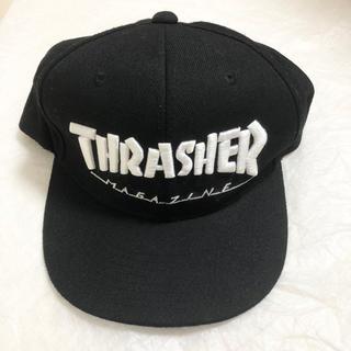 スラッシャー(THRASHER)の【Thrasher】ロゴキャップ帽(キャップ)