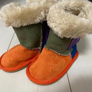ミキハウス(mikihouse)のミキハウス  ホットビスケッツ ブーツ 13cm(ブーツ)