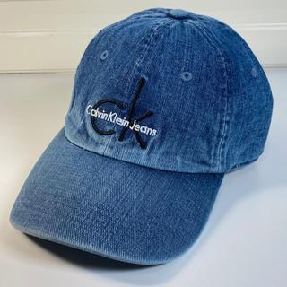 Calvin Klein - 新品未使用 Calvin Klein/カルバンクライン CKデニムCAP送料無料