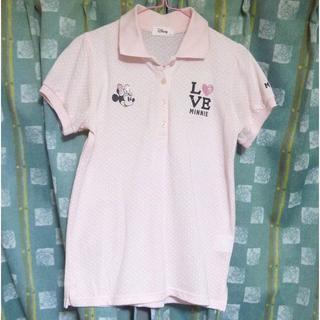 ディズニー(Disney)のディズニー ミニーちゃんのポロシャツ サイズL <b119>(ポロシャツ)