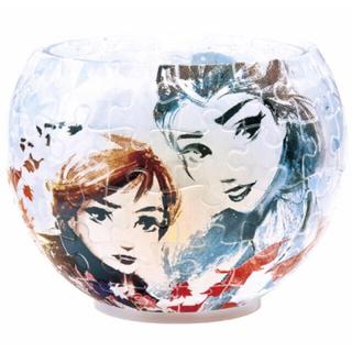 ディズニー(Disney)の新品☆Disney アナと雪の女王2 LEDランプシェードパズル エルサ&アナ(その他)