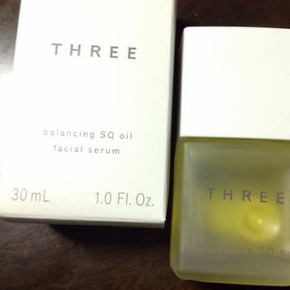 スリー(THREE)のThree バランシング SQオイル R(オイル/美容液)