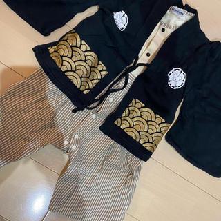 ニシマツヤ(西松屋)の袴  ロンパース 正月 ベビー キッズ 90(和服/着物)