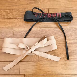 ロペピクニック(Rope' Picnic)のマリア様専用★期間限定SALE🌟サッシュベルト黒(ベルト)