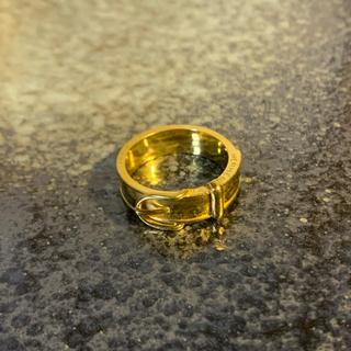 エルメス(Hermes)のHRDさん専用 エルメス スカーフリング ゴールド(リング(指輪))
