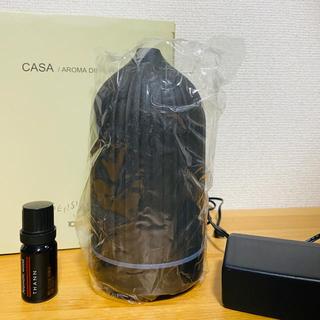 THANN - THANN 電気式アロマディフューザー 黒