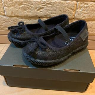 ズーム(Zoom)の【美品】ZOOM ラメバレエシューズ 13.5cm キッズ 発表会 靴(フォーマルシューズ)