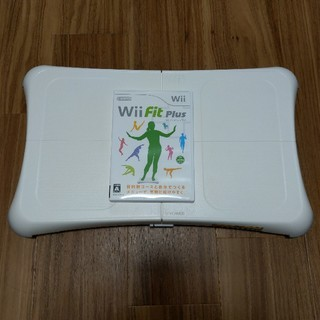 ウィー(Wii)のWii fit plus & バランスボード(家庭用ゲームソフト)