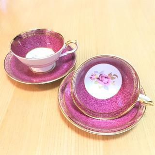 エインズレイ(Aynsley China)のAYNSLEY カップ&ソーサー セット(食器)