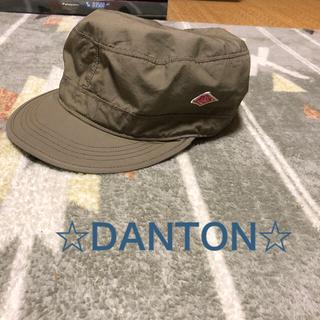 ダントン(DANTON)の【美品】DANTON キャップ(キャップ)