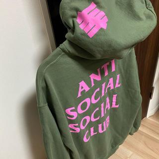 アンチ(ANTI)のANTI SOCIAL SOCIAL CLUB undefeated パーカー(パーカー)