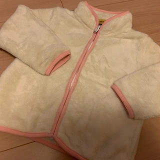 シマムラ(しまむら)のクロッシー フリース90センチ(ジャケット/上着)