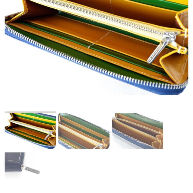 WHITEHOUSE COX(ホワイトハウスコックス)のホワイトハウスコックス JR名古屋タカシマヤ別注 S2622 ZIP メンズのファッション小物(長財布)の商品写真