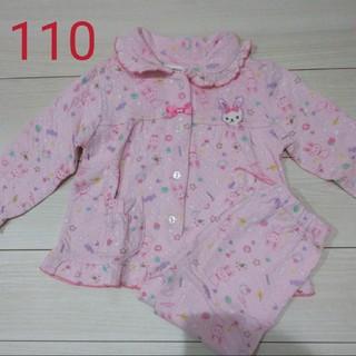 シマムラ(しまむら)の女の子長袖パジャマ 110(パジャマ)