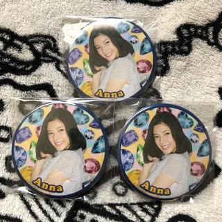 イーガールズ(E-girls)の石井杏奈 缶バッチ(ミュージシャン)