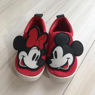 ディズニー(Disney)のミッキー&ミニー シューズ 15(スリッポン)